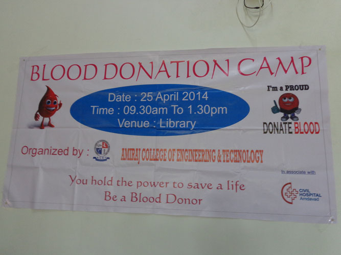 Blood Donation in Amiraj