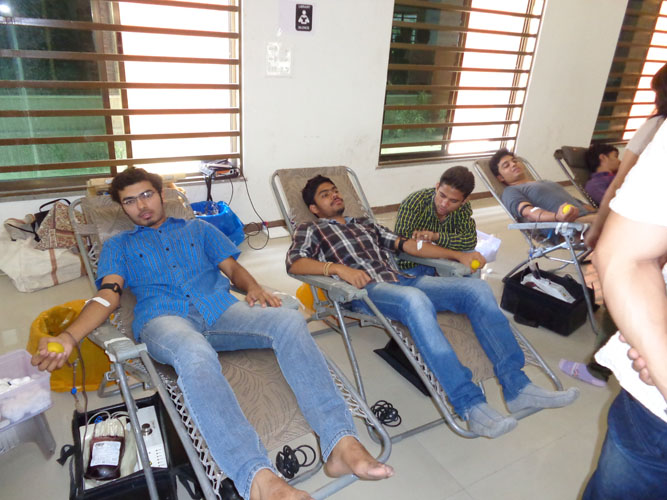 D2d College Blood Donation Camp