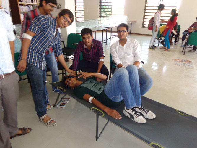 Blood Donation in College Ahmedabad