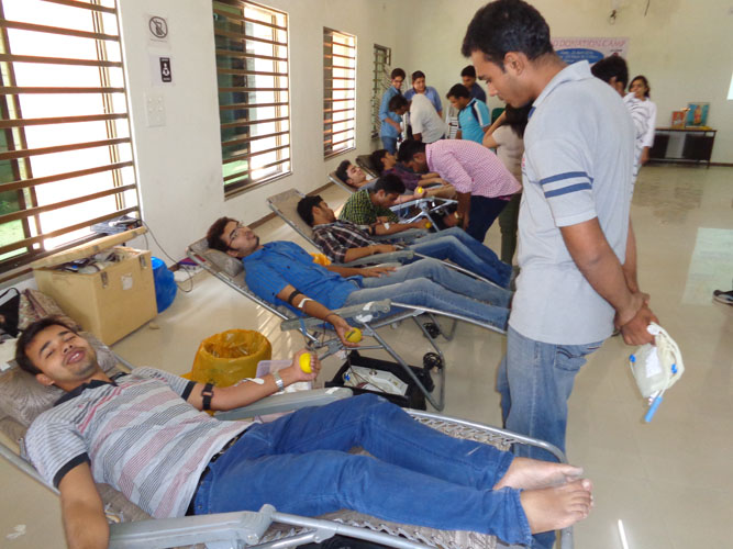 Blood Donation in College