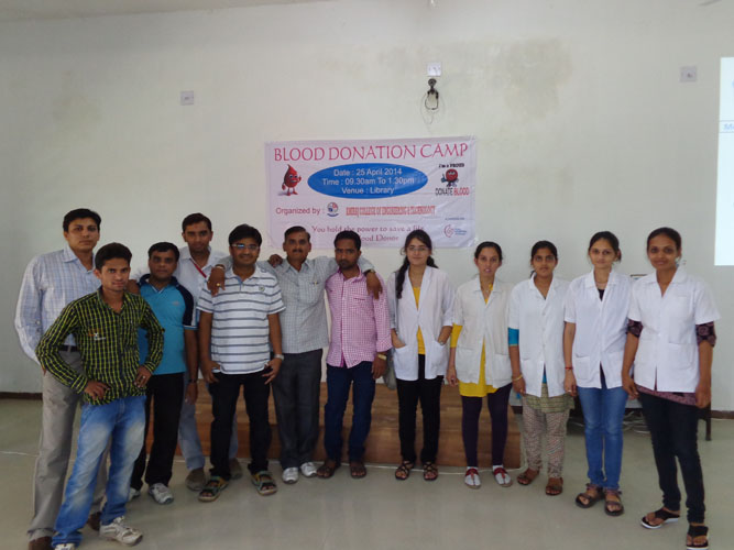 ME College Blood Donation Camp