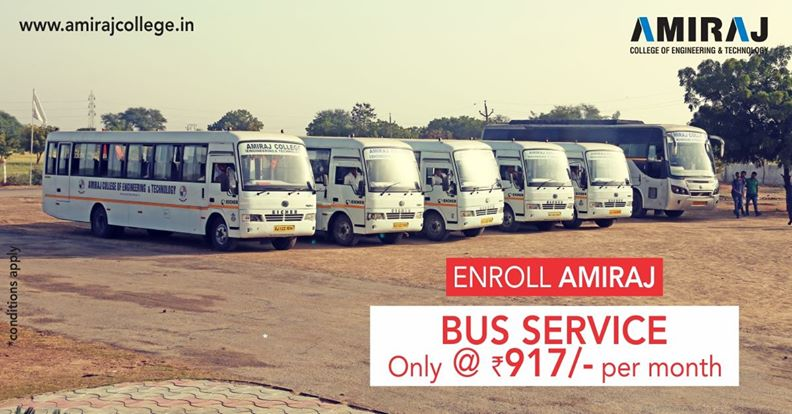 Enroll Bus Service of Amiraj College