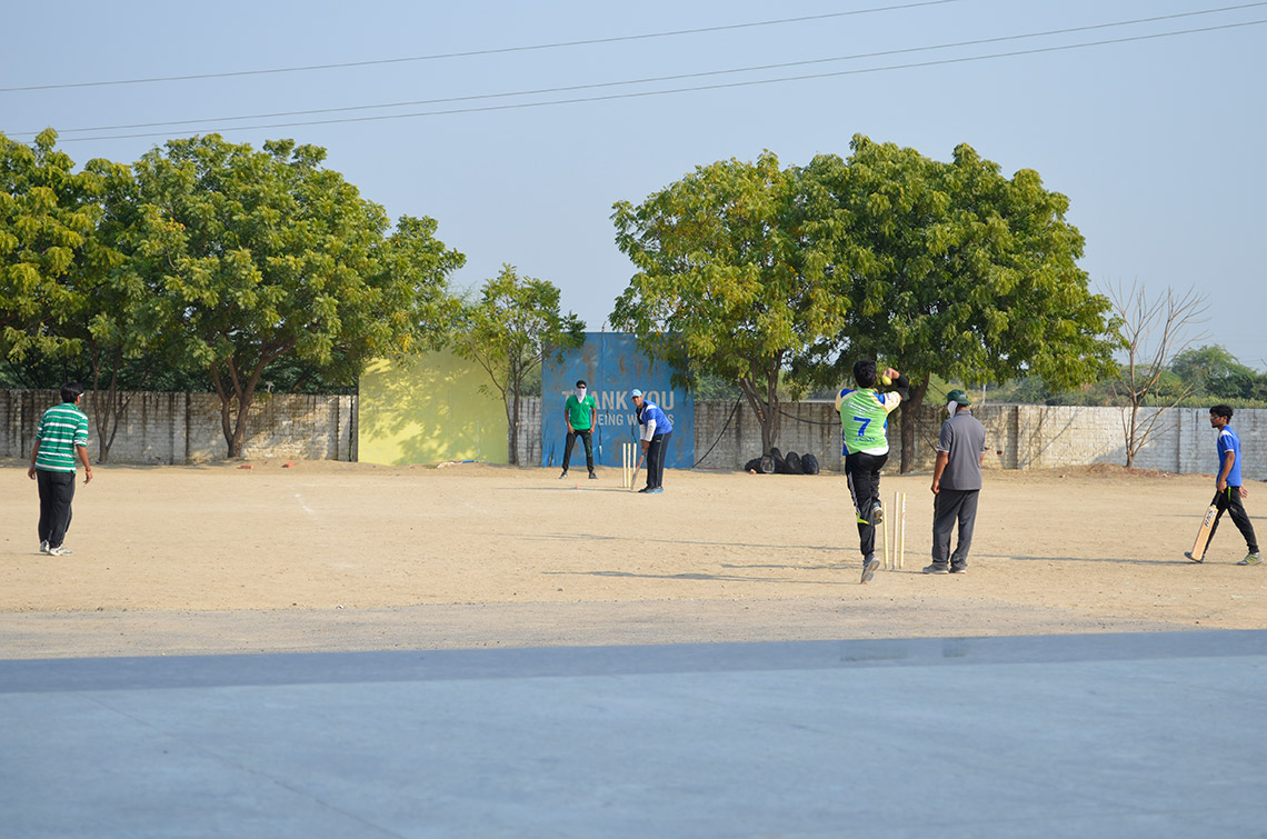 Cricket Match at Amiraj