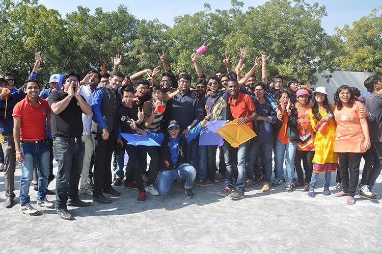 Diploma to Degree College Kites Day Celebration