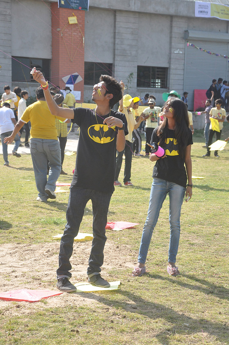 Computer Engineering College Kite Festival