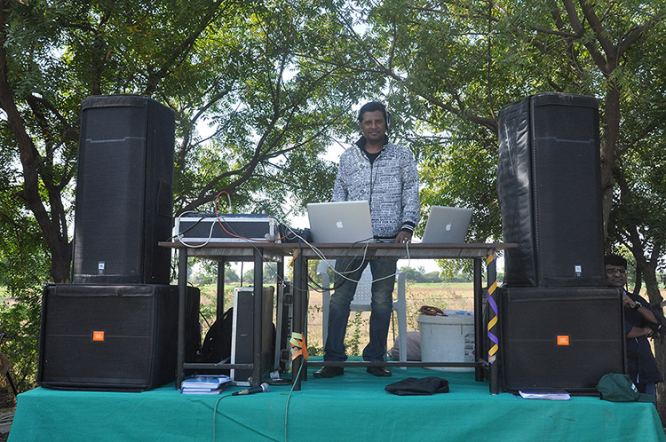Dj in Amiraj Engineering College
