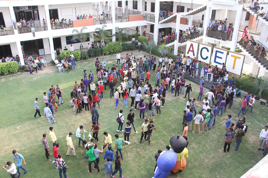 Amiraj Engineering College Ground in Ahmedabad