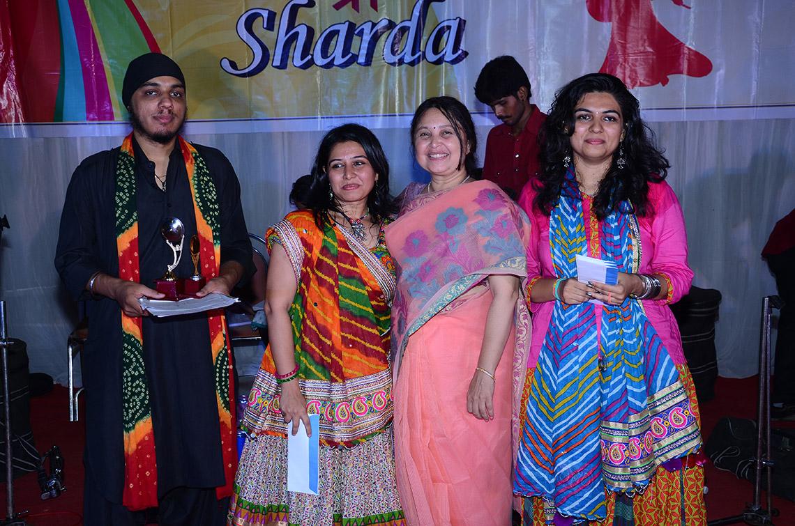 Navratri Festival in Amiraj College Ahmedabad