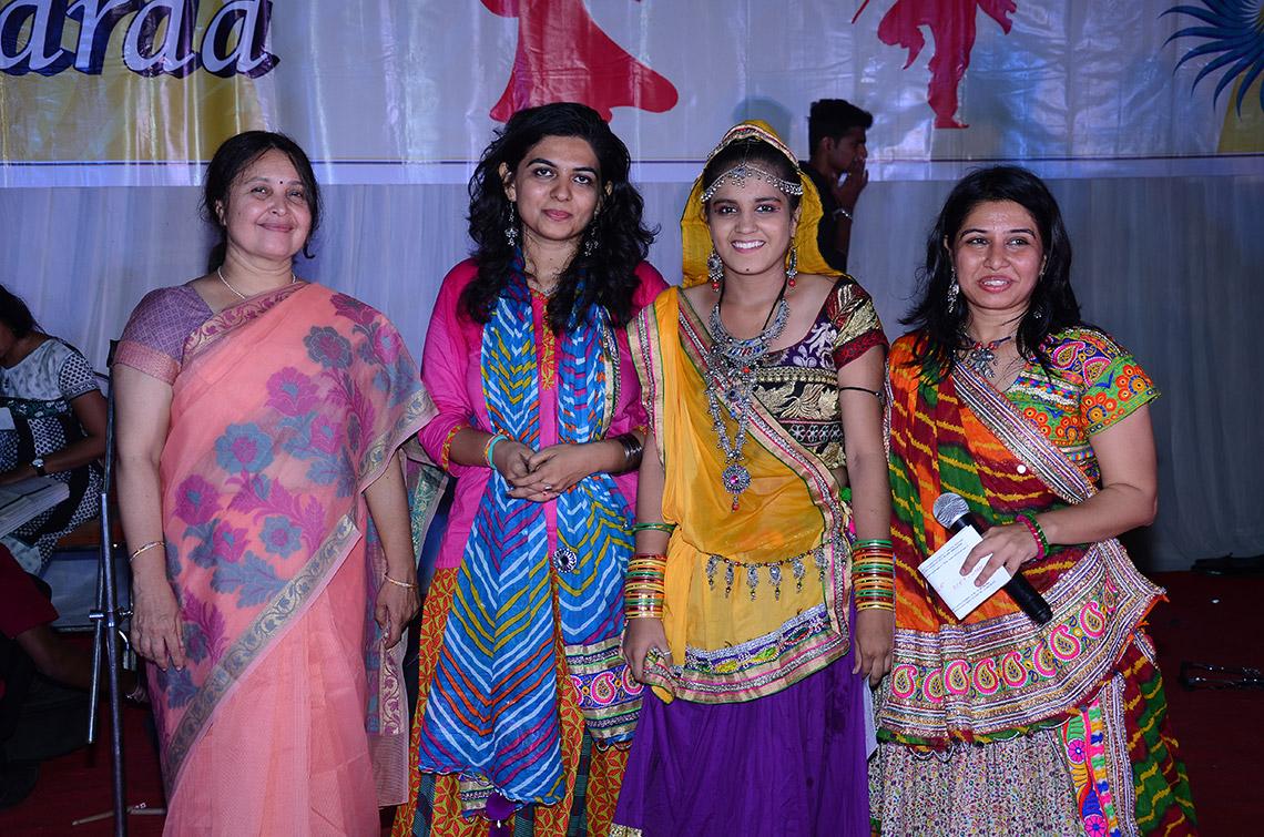 Amiraj College Garba Event Winner 2015