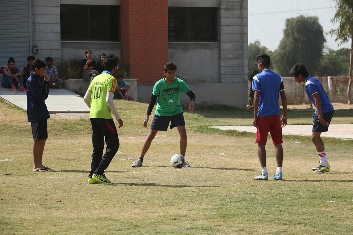Amiraj College sports Ground