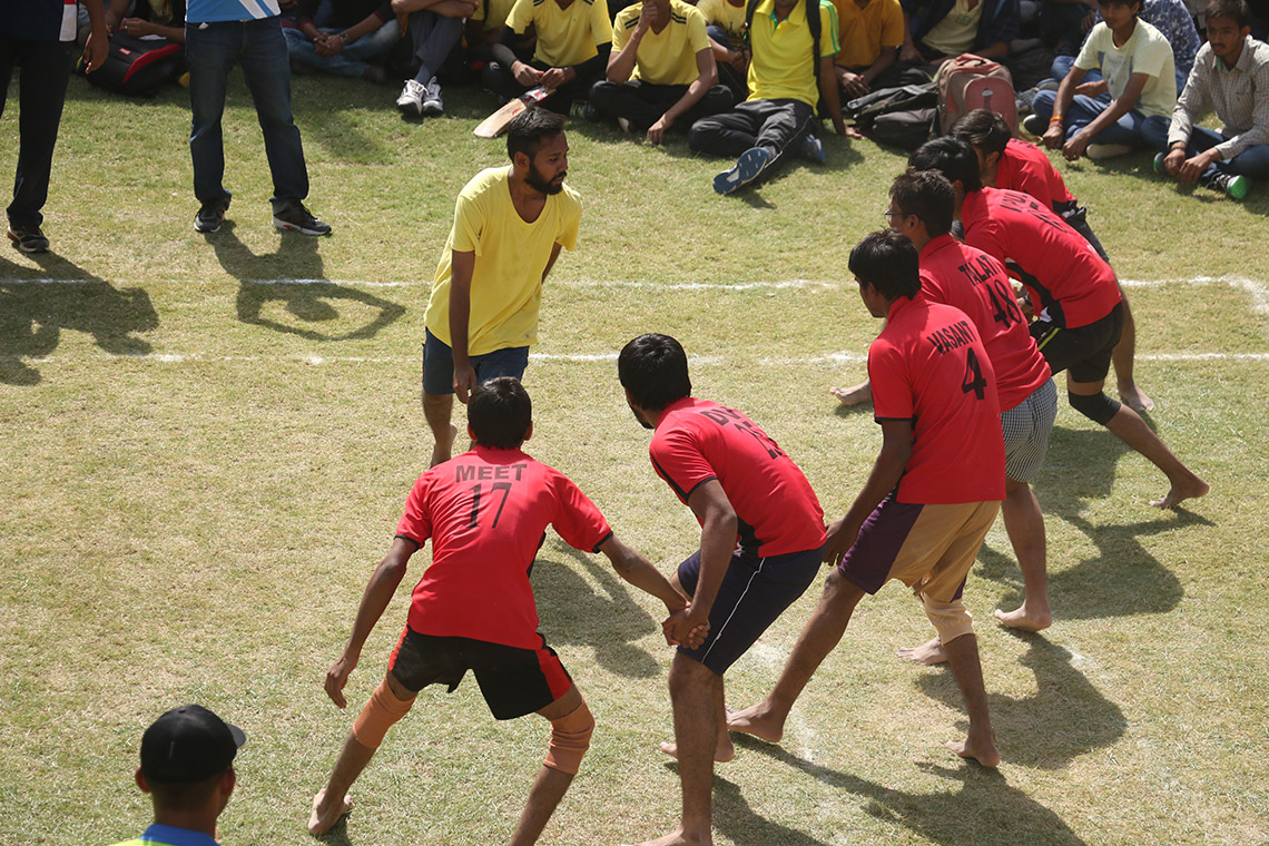 Sports Day of College