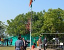 College National Flag Flying