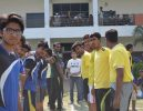 Celebrating Sports Week in Amiraj College