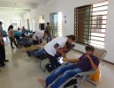 Blood Donation at Amiraj College