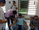 2014 Blood Donation in College