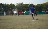 Football Match in College