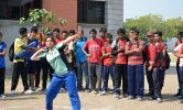Handball Competition in Engineering College