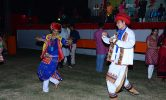 Cultural theme Garba in Engineering College Ahmedabad