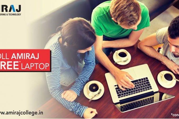 Enroll Amiraj College Free Laptop