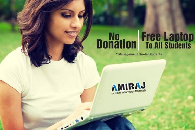 No Donation in Amiraj Engineering College