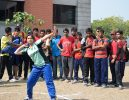 Short Put Competition at Engineering College