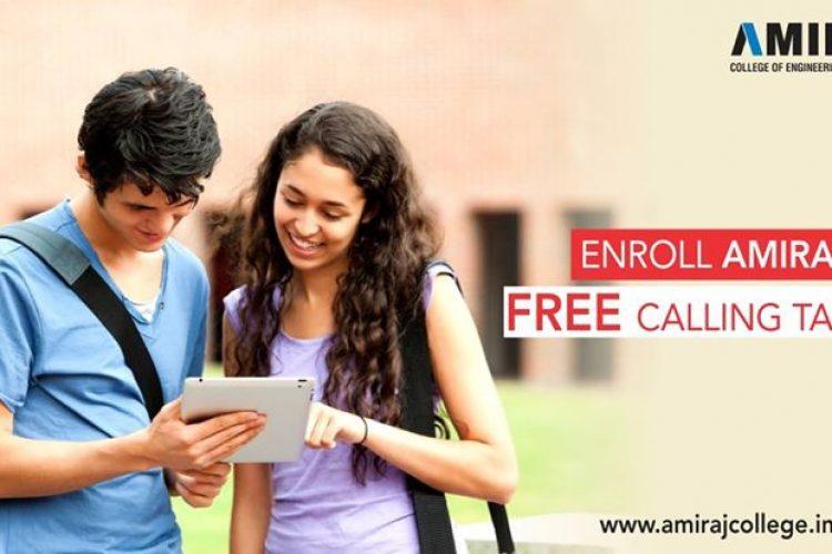 Enroll Free Lablaet of Amiraj College
