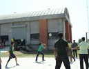 Volley Ball Competition at Amiraj College
