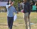 Kites Flying Competition in Amiraj College